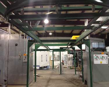 automated powder coating equipment