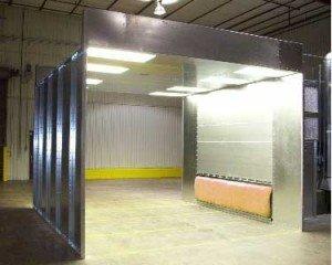 powder coating equipment - booths