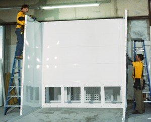 Powder Spray Booth Construction