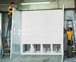 Powder Spray Booth Construction