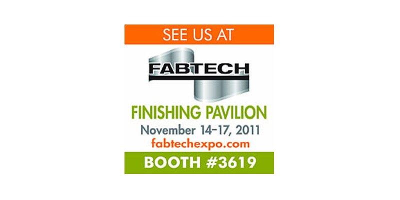Fabtech - Finishing Pavilion
