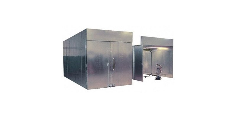 Booth ovens