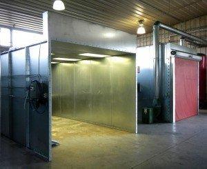 general use-powder coating equipment batch configuration