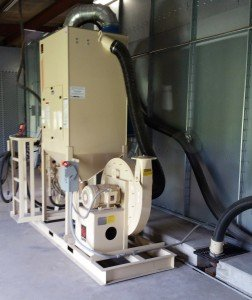 Blast Room With Pneumatic Recovery System From Reliant Finishing Systems