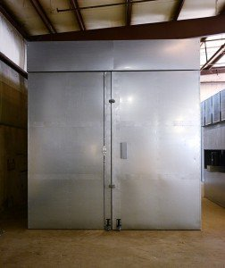 Powder Coating Oven - Frontal View