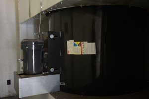 Powder Spray Booth With Tubeaxial Fan
