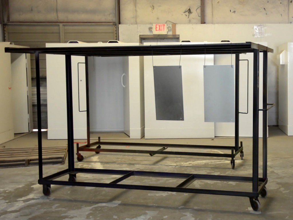 Custom Parts Racks For Powder Coating