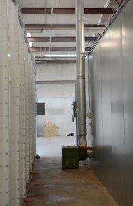Batch Powder Coating Oven Maintenance Walkway