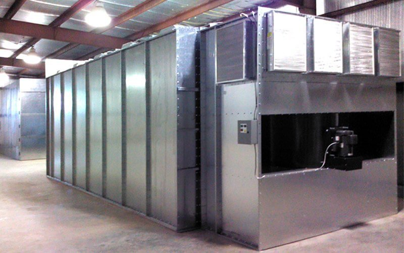 What size powder spray booth do you need for your operation for Powder coating paint booth