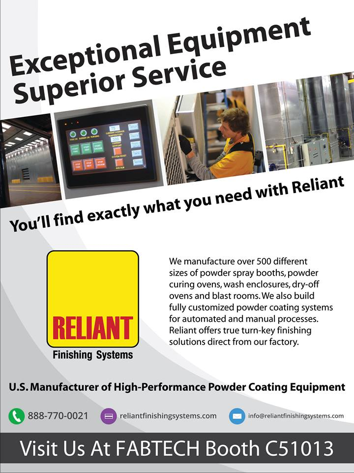 reliant-finishing-systems-at-fabtech-2016