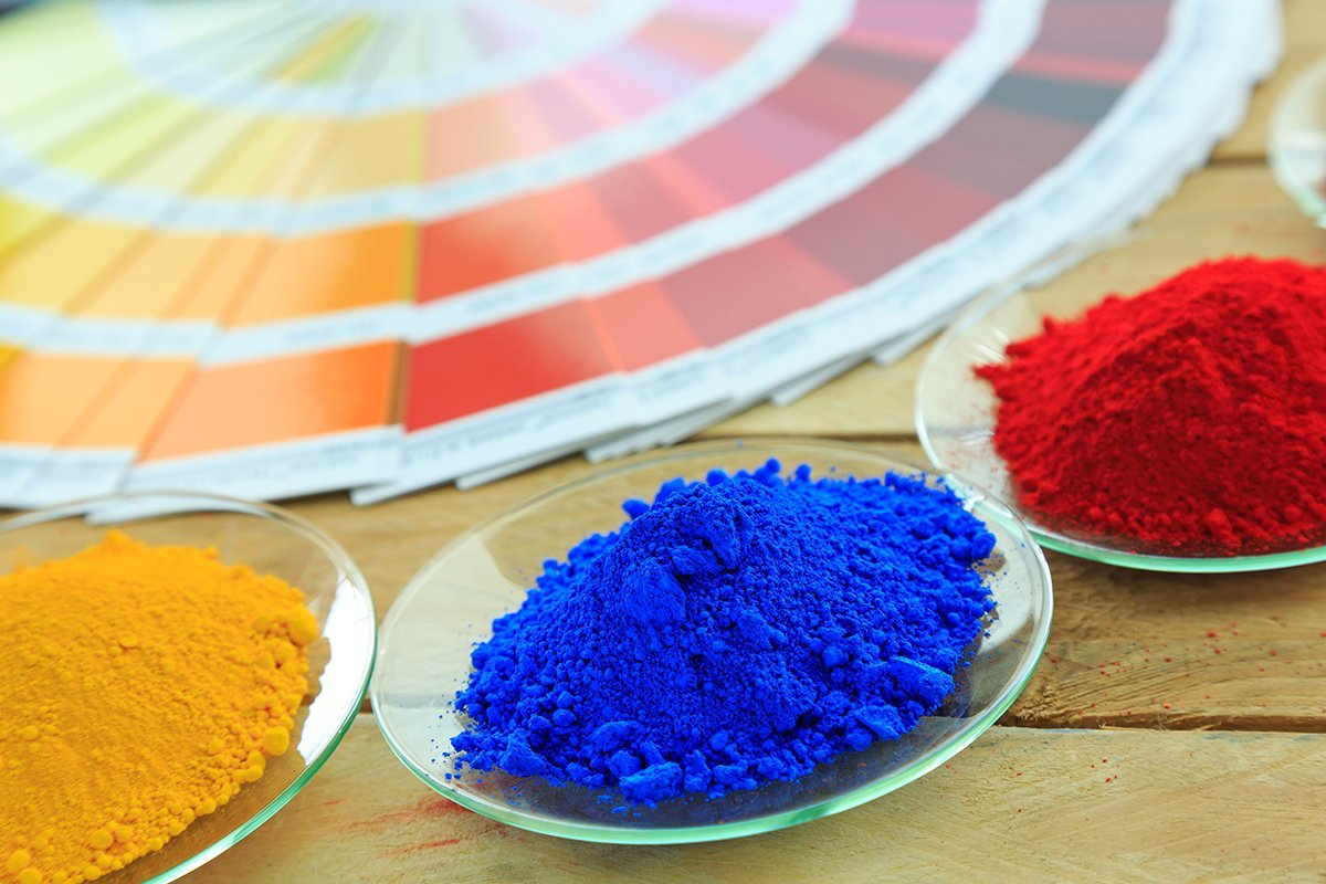 A practical guide to powder coating particle size powder coating and color chart nvjuhfo Image collections