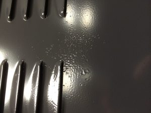 powder-caoted-part-with-coating-contamination