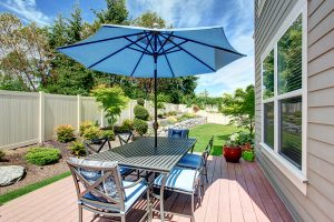 Furniture with Powder Coating Outdoors
