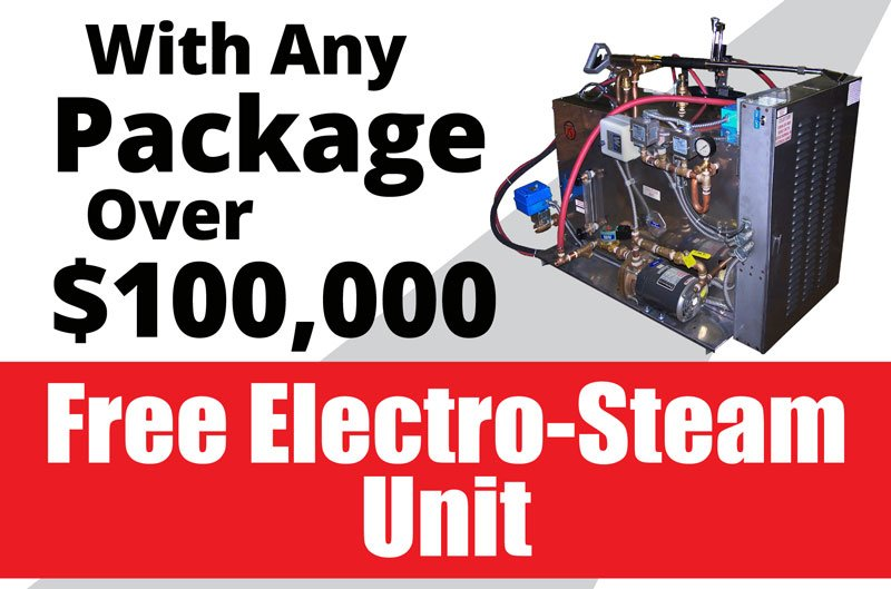 Free Electro Steam Unit March special