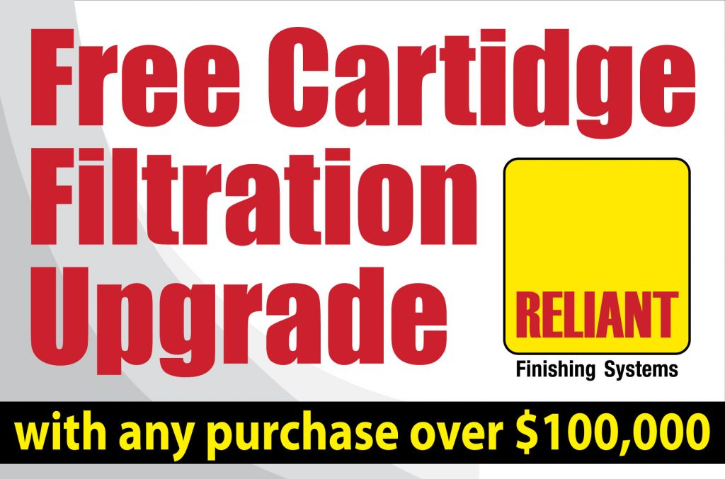 Free Cartridge Filtration Upgrade